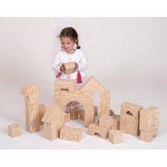 GIANT natural building blocks! How cool is that?!