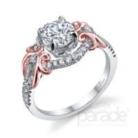 Lyria Bridal Engagement Ring by Parade #Diamonds #EngagementRings #Wedding #Parade #WilliamsDiamondCenter