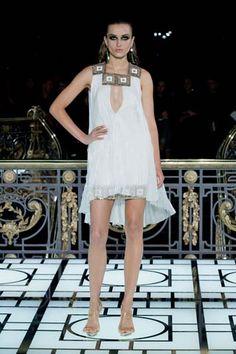72b544625e0d9 Atelier Versace Haute Couture Spring Summer 2013 - Paris Model  Andreea  Diaconu Atelier Versace