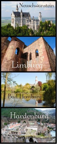 What's the Difference Between a Schloss and a Burg? Also, what about Berg? German vocabulary.