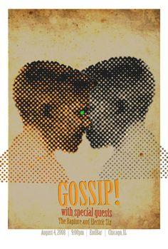 gossip gig poster