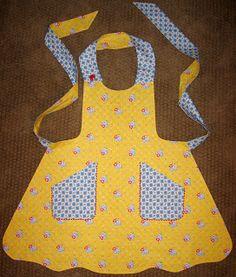 Church Ladies Apron pattern by Mary Mulari. Its reversible!