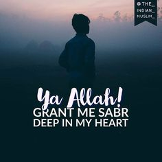 And Allah loves the patient. tag your friends plz & turn on post notification :) . Allah Quotes, Muslim Quotes, Religious Quotes, Hindi Quotes, Islamic Quotes, Qoutes, Be Patient Quotes, Patience Quotes, Allah Love