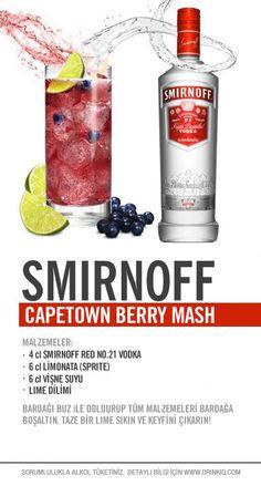 Smirnoff Capetown Berry Mash