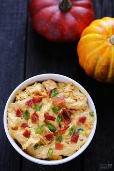 Savory Pumpkin Dip Recipe | gimmesomeoven.com