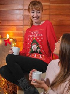 Any Name Personalised Christmas with the Sweatshirt JH030 Family Xmas Jumper