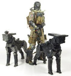 Rocketumblr | GUMS Productions 1/6 Scout Dog TSR-15