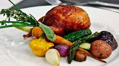 Roast Quail with Porcini Gravy and Herb Roasted Vegetables - Steven and  Chris adef5a0a8383