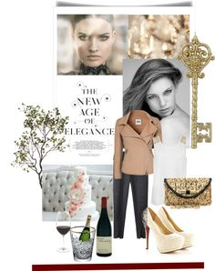 """""""new elegance"""" by deluniq ❤ liked on Polyvore"""