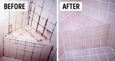 3 Ingredient Grout And Tiles Cleaner! Make Your Grout Look Like New! And Tips On How To Keep It Spotless! Cleaning the bathroom is always seems to be a tedio. Homemade Cleaning Products, Cleaning Recipes, House Cleaning Tips, Natural Cleaning Products, Spring Cleaning, Cleaning Hacks, Household Products, Household Chores, Diy Cleaners