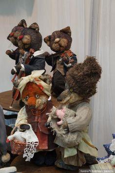 Hello, Teddy 2016! Лисички, зайки и совушки на выставке в Москве. Часть 2 / Выставка кукол - обзоры, репортажи, информация, фото / Бэйбики. Куклы фото. Одежда для кукол