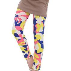 ee30b51f6b1 Kids Girls Leggings Pants Girls Leggings Flower Floral Printed Elastic Long Trousers  Pants 2-14Y