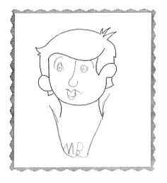 Avatar #6 from the 2nd grade. What does your avatar say about you?