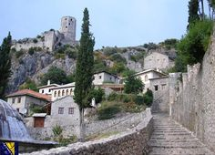 Pocitelj - Počitelj is a town in the Čapljina municipality, Federation of Bosnia and Herzegovina, Bosnia and Herzegovina. The historic site of Počitelj is located on the left bank of the river Neretva, on the main Mostar to Metković road, and it is to the south of Mostar. During the Middle Ages, Počitelj was considered the administrative centre and centre of governance of Dubrava župa (county), while its westernmost point gave it major strategic importance. (Wiki Info) | #Travel #Places |