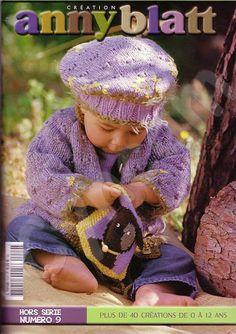 Catalogue Layette et Enfants Anny Blatt HS Knitting Books, Crochet Books, Knitting For Kids, Lace Knitting, Crochet For Kids, Baby Knitting Patterns, Baby Patterns, Knitting Magazine, Crochet Magazine