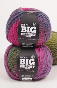 DROPS Big Delight colour chart ~ DROPS Design