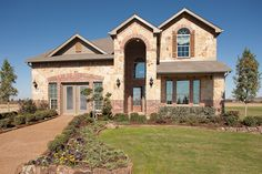 This gorgeous new home is available in the Artesia community in Prosper, TX. Artesia offers small-town living with big-city conveniences by being located only 2 miles west of the Dallas North Tollway along U.S. Highway 380. Community has a welcoming entrance leading to an activities center that includes a pool with a splash park, common areas, and playgrounds.