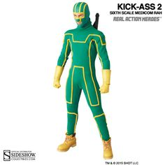 Kick Ass Kick-Ass Sixth Scale Figure by Medicom Toy | Sideshow Collectibles