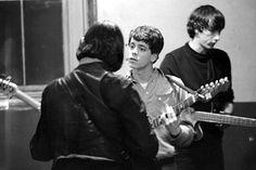 John Cale, Lou Reed and Sterling Morrison (The Velvet Underground)
