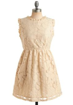 Sophisticate and Kaboodle Dress, #ModCloth