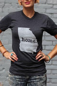 The Home. T - Georgia Home T, $28.00 (http://www.thehomet.com/georgia-home-t-shirt)