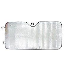 uxcell® Silver Double Bubble Cotton Car Windshield Sunshade Cover Universal Fit Foldable Auto Sun Visor UV Block Heat Reflector