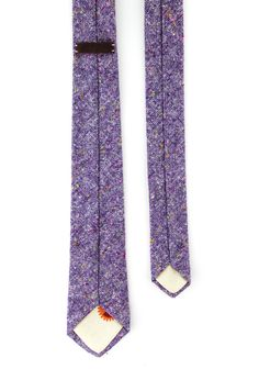 QP Collections // Purple Wool Tie