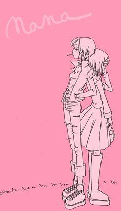 nana is a great manga. 'm in love with Ai Yazawa! Nana Anime, Nana Manga, Manga Girl, Yazawa Ai, Nana Osaki, Nisekoi, Collage, Illustration Girl, Pink Aesthetic