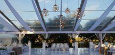 Glass Wedding Marquee Wedding Venue Wedding Decor White and gold wedding Marquee Wedding Venues, Hourglass, Gold Wedding, South Africa, Wedding Decorations, Events, Hourglass Body, Time Turner, Wedding Jewelry