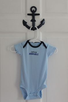 Project Nursery - Boy Nautical Nursery Onesie
