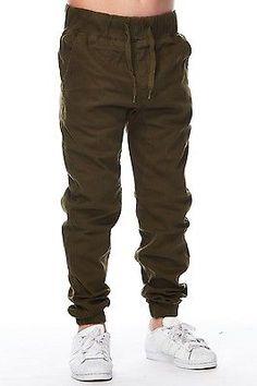 Boys Kids Slim Fashion Clothes Drawstring Cuffed Joggers Pants