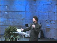 THE DARK TRINITY by Jonathan Cahn speaking at the Jerusalem Centre, Wayne, NJ (8 min)