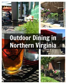 Here is a sampling of local restaurants with patios where you can enjoy delicious outdoor dining on a warm Northern Virginia day.