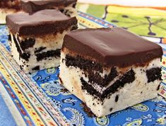 ריבועי פאדג' שוקולד לבן (צילום: דליה מאיר ,קסמים מתוקים)