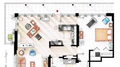 Do You Recognize These Famous Floor Plans?