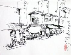 35 best art images paint water colors drawings Sealco Wiring Harness chan changhow sketcheswalk sketchwalk in little india