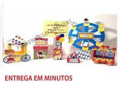 Kit Personalizado Arquivo De Corte Silhouette Circo - R$ 3,00 em Mercado Livre
