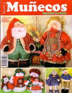 Muñecos Especial de Navidad N4 - gosto de Artesanato - Album Web Picasa