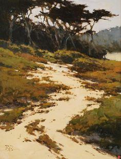 Carmel Dunes by Brian Blood Oil ~ 16 x 12