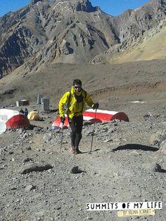Kilian Jornet, nuevo record velocidad en ascensión Aconcagua. Lo deja en 12h49m de Horcones a cima y vuelta. El anterior, de Jorge Egocheaga era de 13h46m.