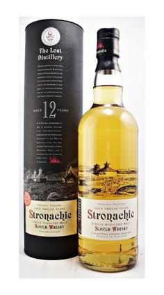 Stronachie 12 Years Old - Stronachie is another long-lost distillery. But in this bottling the distillers at Benrinnes have produced a whisky in homage to the style of whiskies of yesteryear and have named it Stronachie in reference to Scotch whisky heritage.