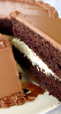 Triple Chocolate Fudge Cake Recipe