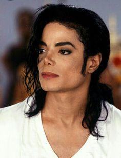 Michael Jackson on the set of Black or White