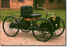 Henry Ford had an engine running by 1893 but it was 1896 before he built his first car. By the end of the year Ford had sold his first car, which he called a Quadracycle, for 200 and used the money to build another one. Ford Motor Company, Henry Ford First Car, Car Facts, Unique Cars, Car Ford, Pedal Cars, Old Trucks, Hot Cars, Cars And Motorcycles