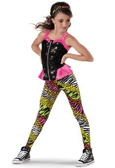 This is my dance recital costume for hip-hop Dance Recital Costumes, Girls Dance Costumes, Dance Outfits, Gymnastics Costumes, Cheerleader Costume Kids, Hip Hop Costumes, Duo Costumes, Ropa Hip Hop, Dance Poses