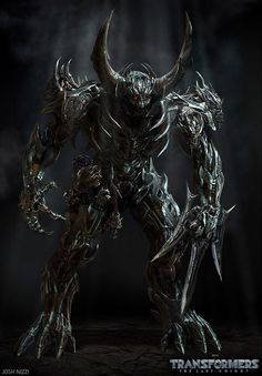 Transformers: The Last Knight Concept Art just keep on coming today. We now have with us theInfernocon Skulk (torso component of Infernocus) concept art b
