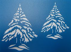 Christmas Trees by kraftkutz on Etsy