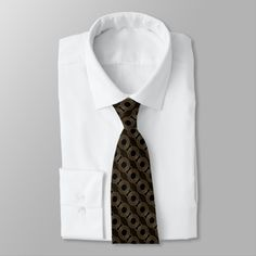 Shop Gold Medallion Tie created by BlueRose_Design. Vintage Hipster, Retro Vintage, Preppy, Gold Tie, Gold Medallion, Custom Ties, Unique Image, Night Out, I Shop