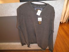 PME pullover bruin/groen katoen € 99.95