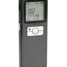 Long Duration Voice Recorder with 8GB Memory - Best Spy Cameras